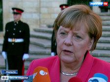 """""""Теневой канцлер"""" ФРГ сравнил Меркель с неосторожной лыжницей, вызвавшей лавину"""