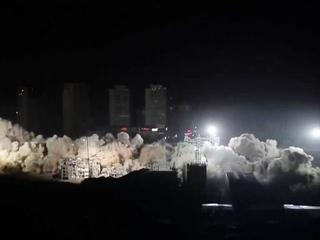 Большой взрыв: в Китае за несколько секунд стерли с лица земли целый квартал