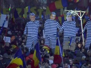 В Румынии не менее 500 тысяч человек выступили против премьера