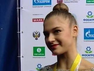 Российские гимнастки стали лучшими на Гран-при Москвы