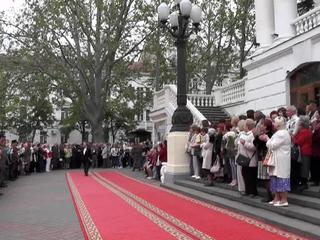 Гойко Митич посетил открытие ежегодного кинофестиваля в Крыму