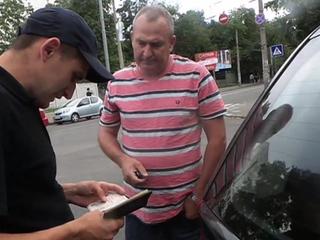 """Украинские радикалы охотятся на водителей """"Яндекс.Такси"""""""