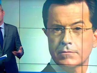 """Американский комик Стивен Колбер делает рейтинги своего шоу на """"русской теме"""""""