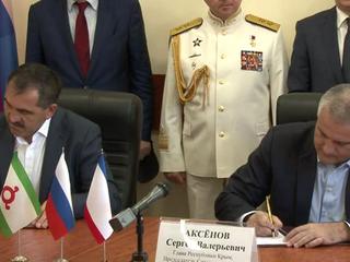 Ингушетия и Крым займутся совместными проектами
