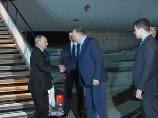 Путин прибыл в Калининградскую область с рабочим визитом