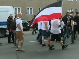 В Берлине протестуют ультраправые, власти опасаются столкновений