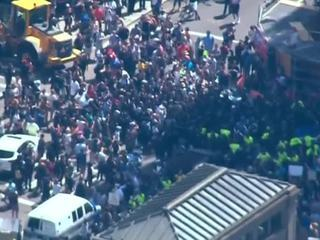 В Бостоне в ходе манифестаций задержаны 27 человек