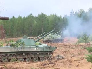 Артиллеристы России и Белоруссии уничтожат условного противника в Псковской области