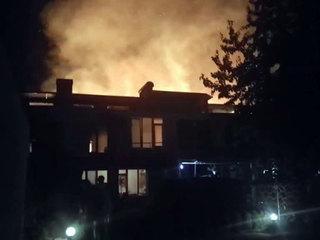 Три ребенка погибли во время пожара в лагере в Одессе