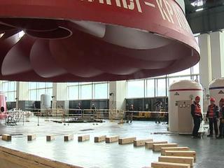 На Красноярской ГЭС заменят две детали весом 250 тонн