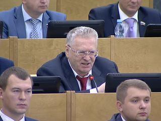 Жириновский хочет штрафовать больных депутатов