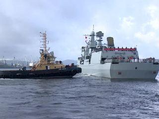 Моряки из России и Китая отработали помощь аварийной подлодке