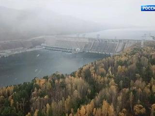 Красноярской ГЭС исполнилось 50