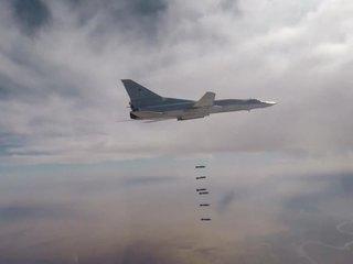Российская дальняя авиация нанесла удар по террористам в Сирии