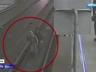 За смелость во имя спасения: полицейского, прыгнувшего за упавшим на рельсы пассажиром, наградят