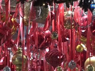 В столице представили елки от известных дизайнеров