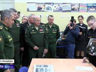 Сергею Шойгу показали, как в Военном институте физической культуры готовят будущих чемпионов