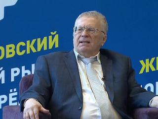 Жириновский встретился со своими доверенными лицами