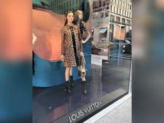 В соцсетях обсудили леопардовую шубу Марии Захаровой