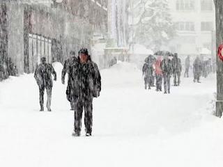 Снежные циклоны парализовали жизнь на Сахалине