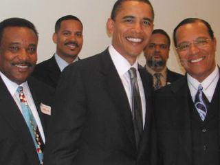 Снимок-компромат: опубликовано фото Обамы с лидером радикалов