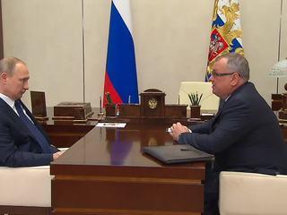 Путин обсудил с главой ВТБ Костиным итоги работы банка