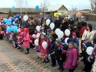 В осетинском селе открылась новая школа
