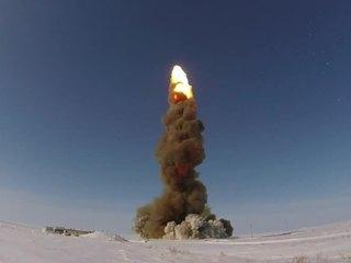 Российские военные успешно запустили новую ракету системы ПРО