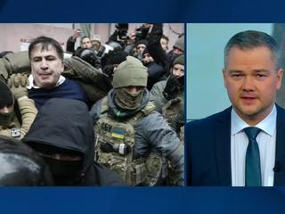 Саакашвили, высланный в Польшу, требует возвращения