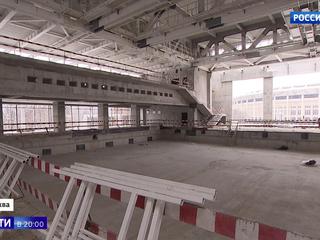В Лужниках появится крупнейший в России плавательный комплекс