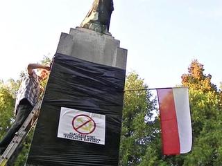 Несмотря на разбитый памятник, в Польше почтили память генерала Черняховского