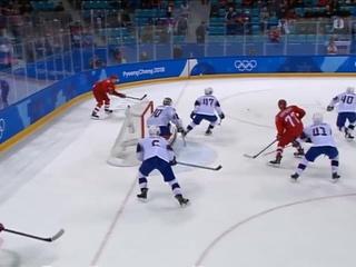 Гол Никиты Гусева в ворота сборной Норвегии