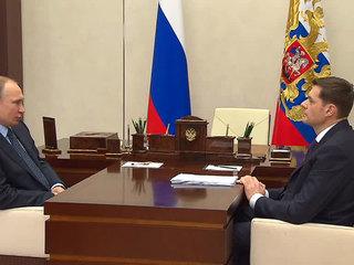 """Путин поблагодарил """"Северсталь"""" за трубную продукцию и участие в социальных программах"""