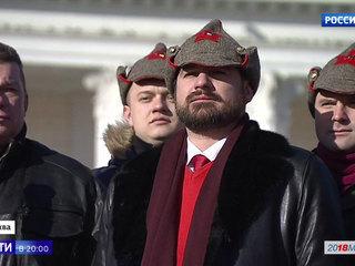 От Москвы до Мурманска: 23 февраля кандидаты в президенты провели на митингах и встречах