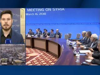 В Астане министры иностранных дел России, Ирана и Турции обсудили ход урегулирования в Сирии
