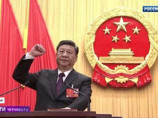 """Си Цзиньпин переизбран, его """"правой рукой"""" стал Ван Цишань"""