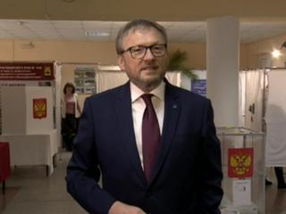 Борис Титов проголосовал в Абрау-Дюрсо