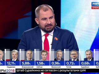 Максим Сурайкин: мне грустно, что большинство наших граждан не выбрали социализм