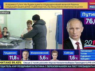 Новосибирск поддержал Путина