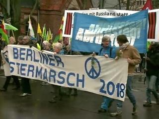 В Германии накануне Пасхи прошел традиционный марш за мир