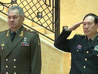 Глава Минобороны Сергей Шойгу встретился со своим коллегой из Китая