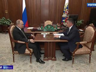 Вице-премьер Максим Акимов рассказал Путину об Интернете нового поколения и дорогах
