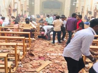 На Шри-Ланке прогремели взрывы: 20 погибших, более 160 человек ранены