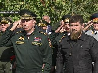 В Чечне группировка по проведению КТО отмечает юбилей