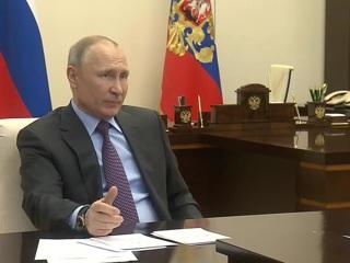 Путин назвал комфортную для России цену на нефть