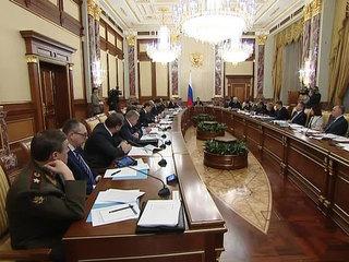 Развитие Крыма. Заседание правительства РФ