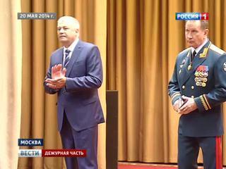Владимир Колокольцев представил нового командующего внутренними войсками
