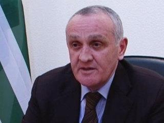 Видеообращение президента Абхазии Александра Анкваба