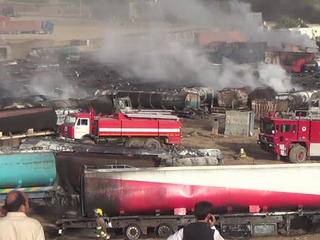 Талибы сожгли под Кабулом 400 бензовозов