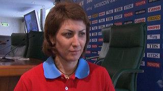 Татьяна Лебедева: пока не готова к тренерской работе
